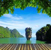island in thailand, ko tapu