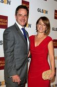 LOS ANGELES - OCT 5:  Tim DeKay, Elisa Taylor arrives at the 8th Annual GLSEN Respect Awards at Beve