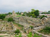 Ruins of Hersones, ancient greece  settlement on Crimea