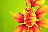 Batik - Rose Motif