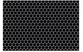 Pattern - Black Hexagon