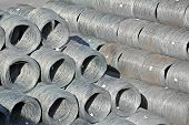 Steel wire roll