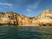 image of vilamoura  - Picturesque Algarve coast between Lagos and the Cap Vincent - JPG
