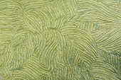 Green Decorative Textured Wallpaper