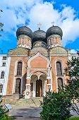 The Cathedral Of Intercession Of The Holy Virgin In The Izmailovo Estate.