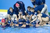 Jul 29 2009; Rome Italy; Team USA competing in the womens waterpolo semi final match between USA and Greece, USA won the match 8-7, at the 13th Fina World Aquatics Championships