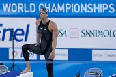 Jul 27 2009; Rome Italy; Michael Phelps competing in the mens 200m freestyle semi final at the 13th Fina World Aquatics Championships held in the The Foro Italico Swimming Complex.