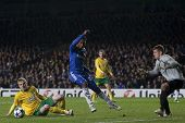 LONDON ENGLAND 23-11-2010. Chelsea's forward Daniel Sturridge in action during the UEFA Champions Le