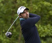 SAINT-OMER, FRANCE. 19-06-2010, Charles-Edouard Russo (FRA) on the third day of the European Tour, Open de Saint-Omer, part of the Race to Dubai tournament and played at the AA Saint-Omer Golf Club