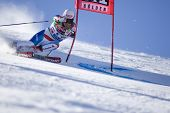 SOELDEN AUSTRIA OCT 26, Daniel Albrecht SUI  competing in the mens giant slalom race at the Rettenba