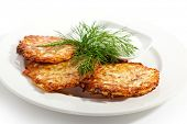 Hash Browns with Sour Cream and Dill