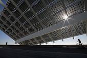 Große Solar-Panels
