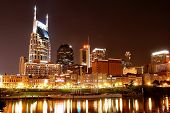 Nashville At Night