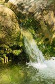 Fortes correntes de água