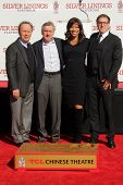Billy Crystal, Robert De Niro, Grace Hightower, David O. Russell at the Robert De Niro Hand and Foot