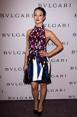 Marta Gastini at the Elizabeth Taylor Bvlgari Jewelry Collection Unveiling, Bvlgari Beverly Hills, CA 02-19-13