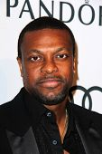 Chris Tucker at the Hollywood Reporter Celebration for the 85th Academy Awards Nominees, Spago, Beve