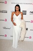 Kim Kardashian at the Elton John Aids Foundation 21st Academy Awards Viewing Party, West Hollywood P