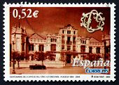 Postage Stamp Spain 2004 Circulo Oscense Building