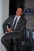 Mark Wahlberg at an Announce of their New Venture, AQUAhydrate, Private Location, Los Angeles, CA 02