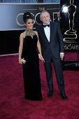 Francois-Henri Pinault, Salma Hayek at the 85th Annual Academy Awards Arrivals, Dolby Theater, Hollywood, CA 02-24-13