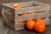Crate With Oranges