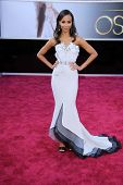 Zoe Saldana at the 85th Annual Academy Awards Arrivals, Dolby Theater, Hollywood, CA 02-24-13