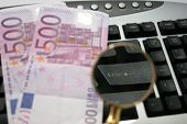 Enter Keyboard With Clack And Cash Euro
