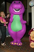 HOLLYWOOD - AUGUST 02: Barney The Purple Dinosaur at the
