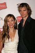 HOLLYWOOD - AUGUST 27: Autumn Reeser and Jesse Warren at the TV Guide Emmy After Party at Social Aug