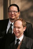 LOS ANGELES - AUGUST 19: Penn and Teller at the 58th Annual Creative Arts Emmy Awards on August 19,