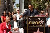 Eddie Willis, Jack Ashford, Ray Parker Jr. at The Funk Brothers Star on the Hollywood Walk of Fame, Hollywood, CA 03-21-13