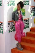 Jada Pinkett Smith at the 2012 Nickelodeon Kids' Choice Awards, Galen Center,  Los Angeles, CA 03-31-12