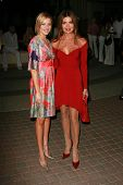 HOLLYWOOD - AUGUST 25: Brianne Davis and Tracy Scoggins at the
