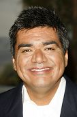 BURBANK - AUGUST 22: George Lopez at the press conference announcing George Lopez for the 2007 Bob Hope Chrysler Classic at Warner Bros. Studios on August 22, 2006 in Burbank, CA.