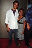 HOLLYWOOD - AUGUST 01: Sunkrish Bala and Priya Bala at the Los Angeles Premiere of