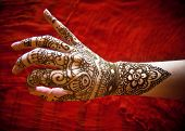 picture of mehendi  - Woman