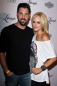 BEVERLY HILLS - SEPTEMBER 27: Maksim Chmerkovskiy, Peta Murgatroyd at the Beverly Hills Magazine Fall Launch Party at Kyle By Alene Too on September 27, 2012 in Beverly Hills, CA.