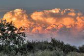 Hugh colorful  Clouds