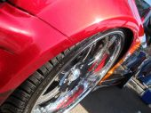 Red sport chrome