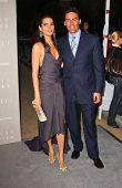 BEVERLY HILLS - APRIL 26: Angie Harmon and Jason Sehorn at the Nina Ricci Fashion Show and Gala Dinn