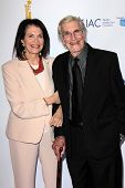 Sherry Lansing, Martin Landau at the  27th Israel Film Festival Opening Night Gala, Writers Guild Th