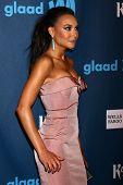 Naya Rivera at the 24th Annual GLAAD Media Awards, JW Marriott, Los Angeles, CA 04-20-13