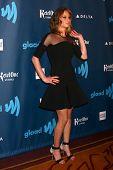 Jennifer Lawrence at the 24th Annual GLAAD Media Awards, JW Marriott, Los Angeles, CA 04-20-13