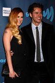 Rumer Willis, Jayson Blair at the 24th Annual GLAAD Media Awards, JW Marriott, Los Angeles, CA 04-20