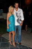 WESTWOOD - APRIL 19: Tori Spelling and Dean McDermott at the 35th Birthday Celebration for Travel an