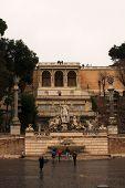 Monument, Piazza Del Popolo, Rome