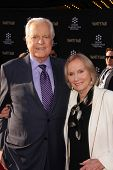 Robert Osborne, Eva Marie Saint at the TCM Classic Film Festival Opening Night Red Carpet Funny Girl, Chinese Theater, Hollywood, CA 04-25-13