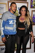 Jacob Payne, Natalie Nunn at the House Of Moscato Presented by Skyy Infusions Moscato Grape, Greysto