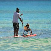 Stand Up Paddle Hawaiian Style